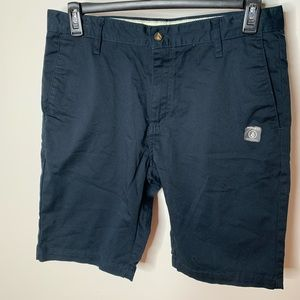 Men's Volcom Drifter Shorts Black Size 32W T51